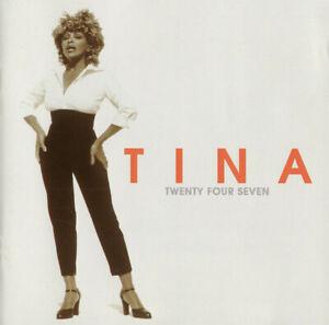 TINA TURNER - TWENTY FOUR SEVEN (11 track cd album 1999)
