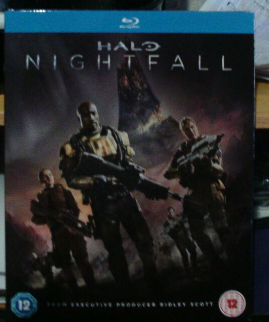 Halo Nightfall Blu Ray Dvd 0kvg For Sale Online Ebay