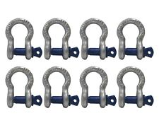 Anchor Shackle Alloy Screw Pin 14 8 Count Rigging D Ring Clevis Peerless
