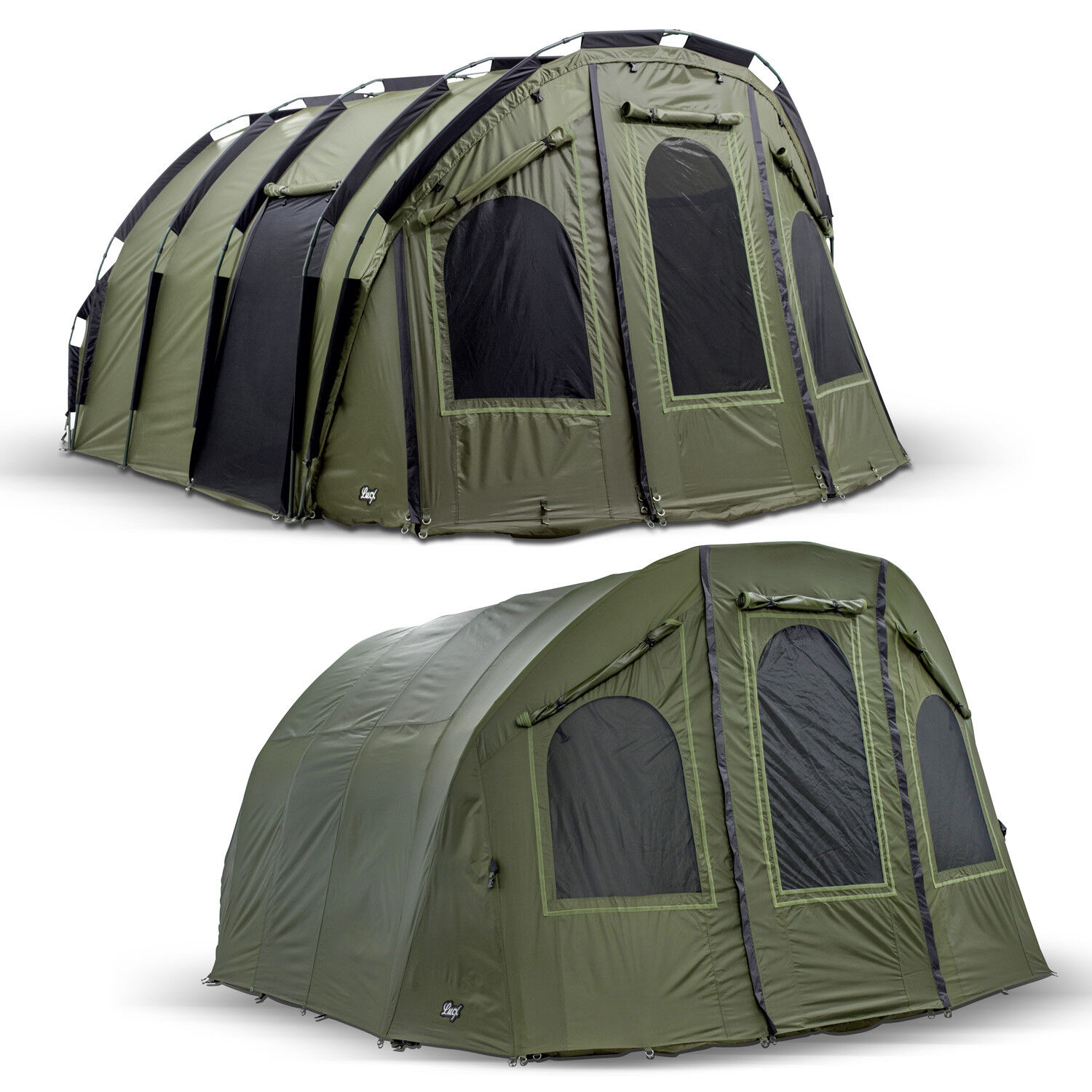Lucx Bivvy + Winterskin Fishing  Tent + Cover 2 4 6 Mann Carp Tent   Bigfoot    free shipping on all orders