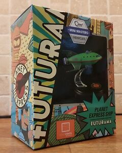 Futurama Planet Express Ship Model QMX Loot Crate Exclusive mini master - Northampton, United Kingdom - Futurama Planet Express Ship Model QMX Loot Crate Exclusive mini master - Northampton, United Kingdom