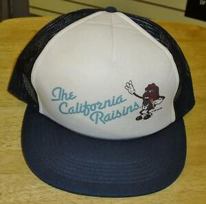 78cce781da8c8 Image is loading The-California-Raisins-hat-Snapback-RaRe-trucker-mesh-