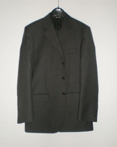 Angelico Quality Italian Mens Suit, Size 46 EU, Chest 40in Waist 31.5in