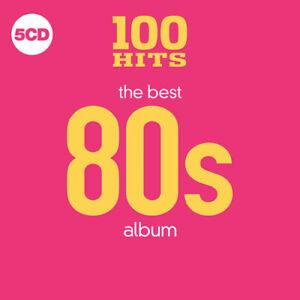 Various-Artists-100-Hits-The-Best-80s-Album-CD-Box-Set-5-discs-2018