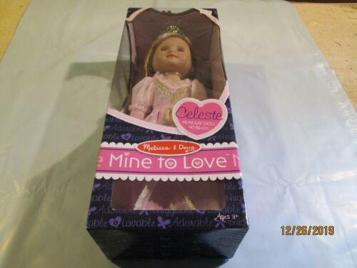Tall Melissa /& Doug Mine to Love Princess Celeste Doll 14in