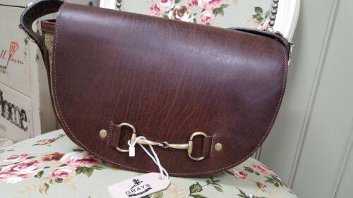 Grays leather shoulder bag Haston Bag In Hunter