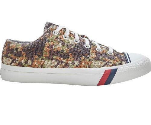 Pro Keds  PK57577 Prokeds Royal Lo Reflective  Sneakers Camo Tan