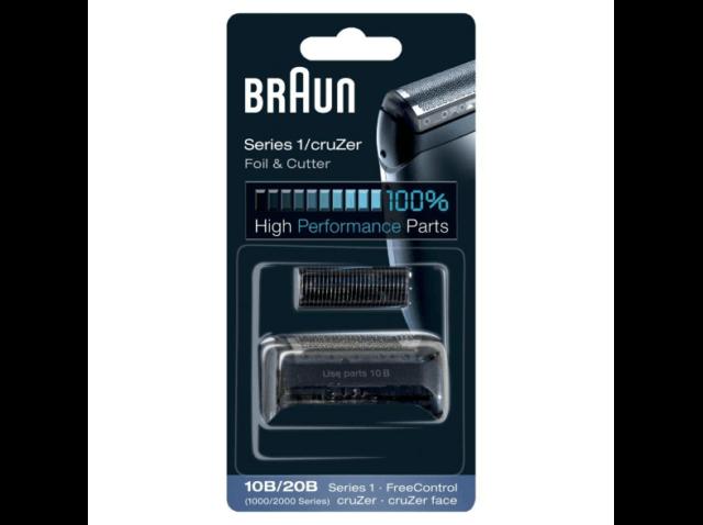 Braun 10B/20B, - Recambio para afeitadora -  Compatible con Series 1