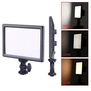 "CNG CN-LUXPAD22 0.6"" Ultra Thin 11W 112-LED Video Light Flat Panel On Camera"