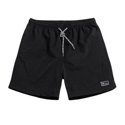 Shorts Hommes Respirant Shorts taille élastique plage de longueur du genou court