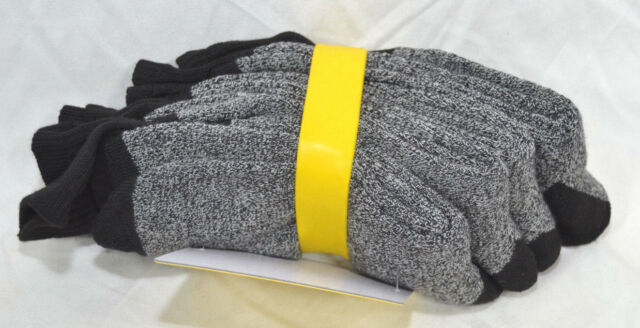 Stanley 4 Pairs Mens Long Work Socks /& Winter Brim Visor Cap Choose Beanie
