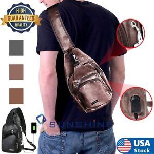 Men Tactical Sling Molle Chest Pack Outdoor Shoulder Bag Hiking Travel Backpack
