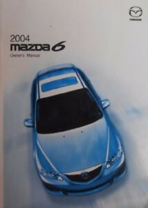 2004 mazda6 owners manual ebay rh ebay com mazda 6 2004 manual owner pdf owner's manual mazda 6 2004