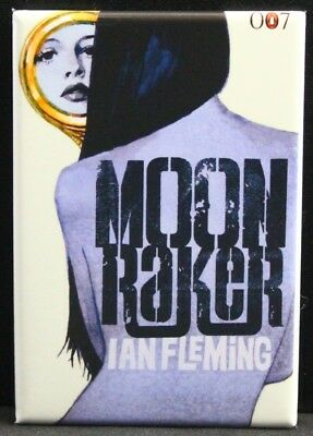 "Moonraker MAGNET 2/""x3/"" Refrigerator Locker Trading Card Wrapper Gum Bond"