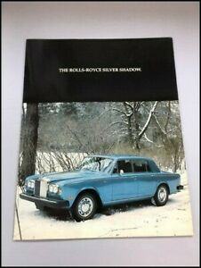 Anleitungen & Handbcher Sonstige 1977 Rolls Royce Silver Shadow ...