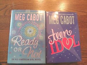 Two best selling novels by meg cabot ready or not amp teen idol