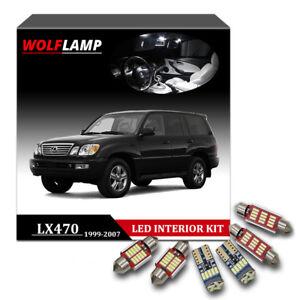 15pcs canbus white package kit led interior car light for 1999 2007 lexus lx470 ebay ebay