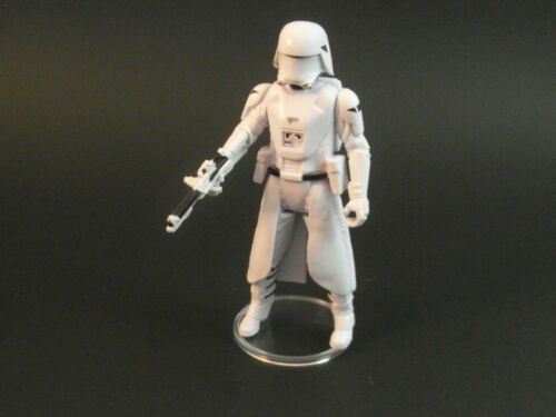 """50 x 1.5/"""" Modern Star Wars Figure Display Stands-Wide stance 1995 and up T4c"""