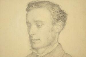 Niels-Agaard-LYTZEN-1826-1890-Portrait-eines-jungen-Mannes-1849-Daenemark