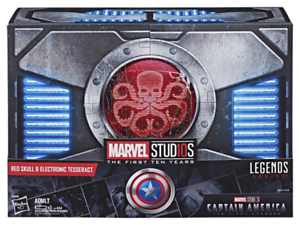 Marvel Legends SDCC Exclusive Red Skull & Tesseract Replica Box Set
