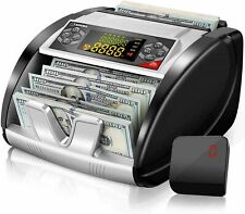 Money Bill Currency Counter Counting Machine Counterfeit Detector Uv Mg Cash Us