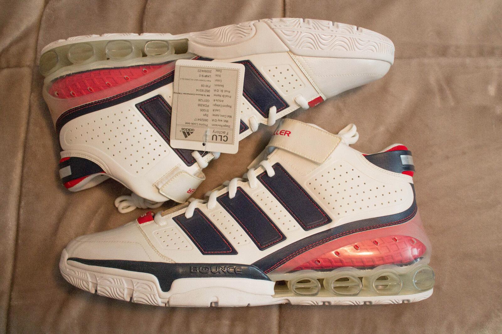 Adidas sehen ts auf commander stichproben / sehen Adidas 2009 basketball - schuhe der größe 20 männer 5a9cc1