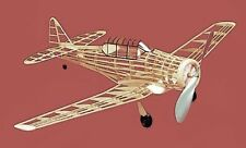 AT-6 Texan #114 Herr Balsa Wood Model Airplane Kit Rubber Powered
