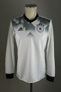 Deutschland-Trikot-Training-Gr-S-M-L-XL-DFB-4Sterne-langarm-Shirt-LS-Warm-up