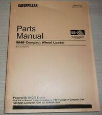 Cat Caterpillar 904b Compact Wheel Loader Parts Manual Book Sn B4l1 Up Sebp4015