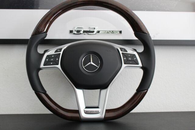 original Mercedes Lenkrad Holz Holzlenkrad Supersport Wurzelnuss R172 R231 W212