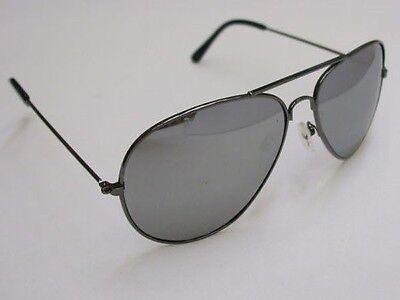 15 X Sole Specchio Anni 80 Anni 80 Costume Occhiali Da Sole Argento Nuovo H.