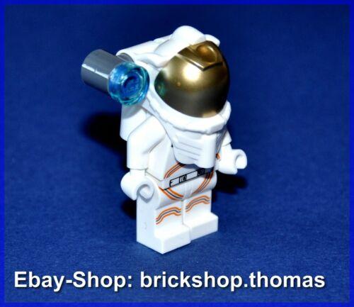 LEGO PERSONAGGIO ASTRONAUTA CON CASCO-City Space cty1027 minifig-NUOVO//NEW