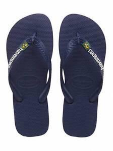 infradito havaianas uomodonna Brasil Logo Marinho 41108500555 Navy Blue Blu