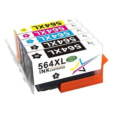 Wholesale New GEN 564XL w// Chip Ink Cartridge For HP 564 XL Officejet 4620 4622