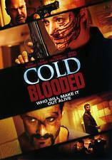 COLD BLOODED 2014 Thriller dvd Female Cop ZOIE PALMER Ryan Robbins SERGIO DI ZIO