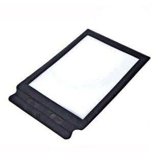 A4 Full Page Magnifier Large Sheet Magnifying Glass Reading Aid