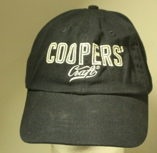 Coopers Craft Hat Cap Black Adjustable