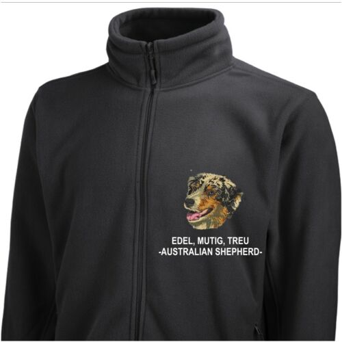 Shepherd By Giacca Siviwonder Merle Embroidery in pile Dog Blue Australian PPtTZq