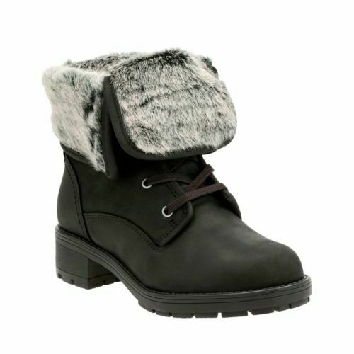 Ankel Svart Clarks Ladies Gtx Up Winter 4 Leather Boots D Uk Reunite 7A4Aawq