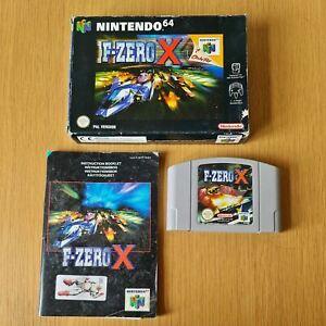 F-Zero X NINTENDO 64 N64 PAL Juego en Caja Completa Con Manual Gratis P&P