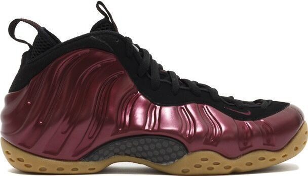 2016 nike air foamposite un bordeaux dimensioni 314996 penny royal gomma