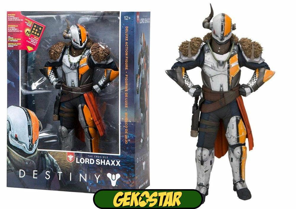 Lord shaxx-Destiny 2 DELUXE ACTION FIGURE