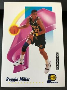 1991-92 Skybox Reggie Miller #114 HOF Indiana Pacers, Mint cond. (A8)