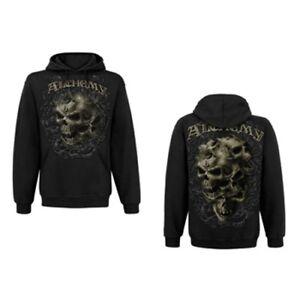 Gothic Hoodie L Gestalkopf Alchemy Felpa Taglia Official Merchandise gfdZqZ