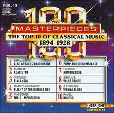 Top 10 of Classical Music, 1894-1928 (CD 1991, Laserlight) NEW Free Shipping