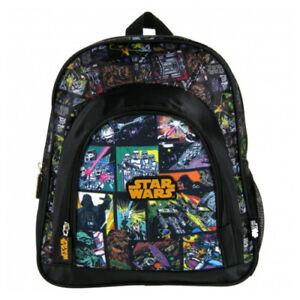 Star-Wars-Backpack-Boys-Nursery-School-Black