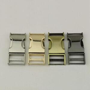 10x-19-mm-Steckschliesse-Alu-Steckschnalle-Schnalle-Metall-Steckverschluss-Max