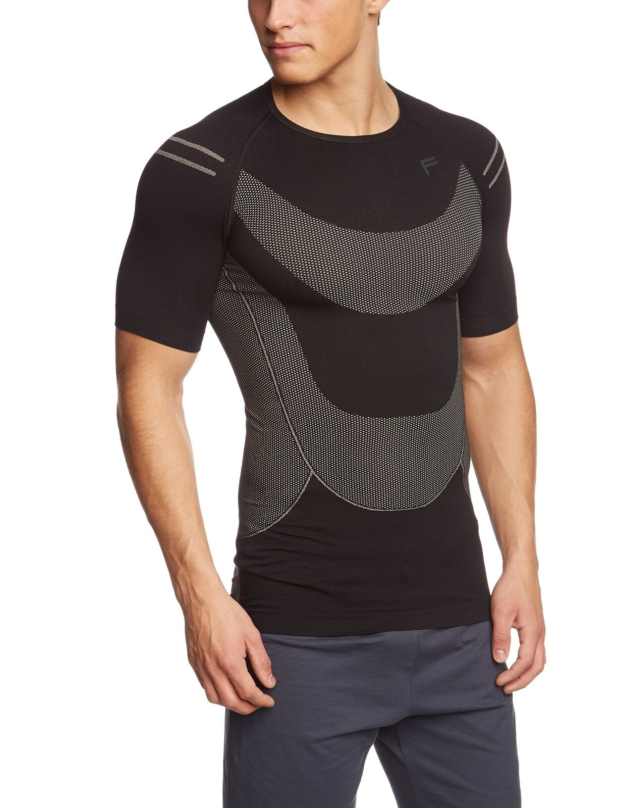 FLite Uomo Megalight 140 Livello Base TShirtNero, XXLarge