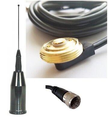 Multiband Mobile Radio Antenna UHF VHF TETRA 700 800 900 Spring Hole Mount  PL259 | eBay