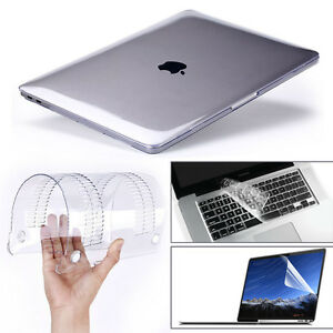info for 6cdd0 8529d Details about Glossy Clear Hard Shell Case+Keyboard Cover MacBook Air 11